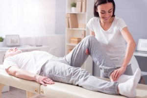 Knee replacement recovery
